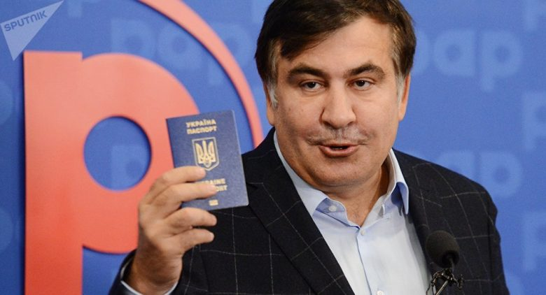 Who is Mikheil Saakashvili and what does he want in Ukraine? Sputnik International