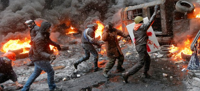 Ukraine's Grey-Zone Conflict: What Lies Ahead? Photo: ukrainvsrussia.wordpress.com