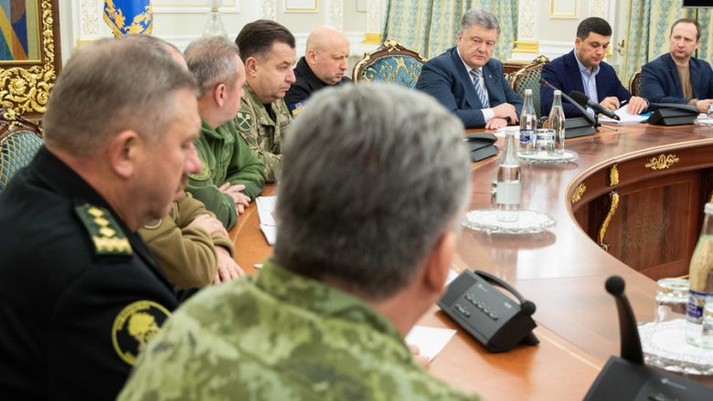© Reuters / Mykhailo Markiv / Ukrainian Presidential Press Service