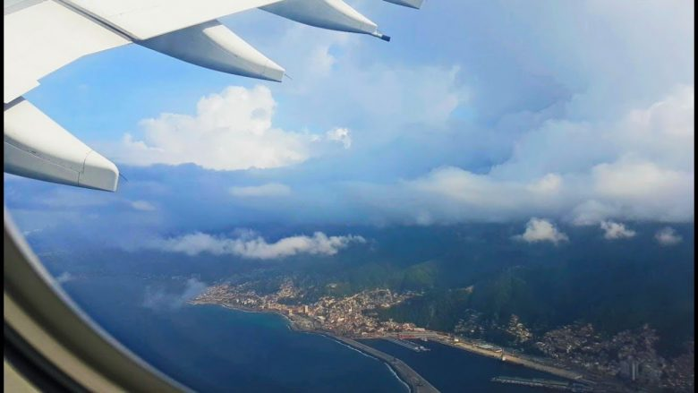 Flying in to Caracas Airport