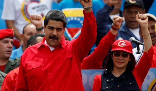 Venezuelan President Nicolas Maduro's popularity ratings have risen to 23.2% just a few weeks ahead of regional elections. (Reuters/Carlo Garcia Rawlins)