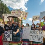 Indigenous land defenders released from jail after Mt. Rushmore Trump visit, prosecutor launches campaign of charges against them