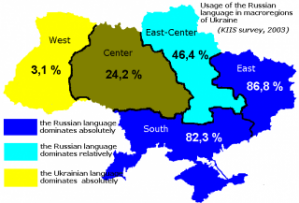 Mother tongue issues divide Ukraine – poll