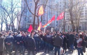 Ukraine junta bans communism, honors fascism