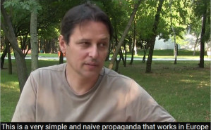 Interview from Donetsk with French journalist Laurent Brayard