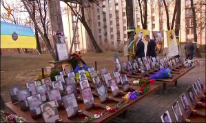 During Kyiv visit, U.S. vice-president takes in sanitized version of Maidan massacres of Feb 2014