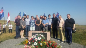 Tour group from Finland visits Donbass people's republics