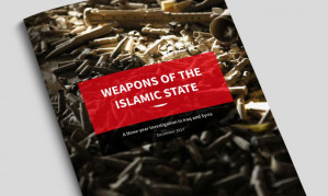 UK-based arms trafficking research institute reveals how U.S. armaments in Iraq ended up with ISIS