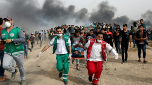 40 Dead, 5,511 Wounded: UN releases figures on Palestinian casualties in Gaza's mass protests on Israel border