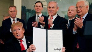 Trump's Green Light to Israel: First the Golan, Then the West Bank?