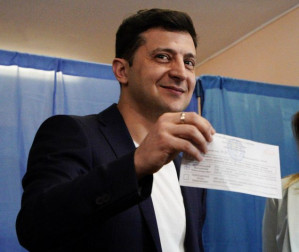 Zelensky Is Leading In Second Round Of Ukraine Presidential Election With Over 70%