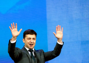 Ukraine's presidential election: the society of the spectacle