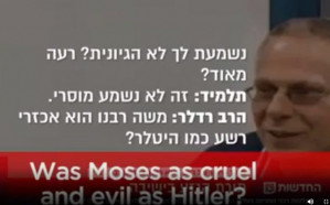 Israeli rabbis at military prep school are caught on video praising Hitler