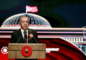 Erdogan says he 'cannot accept' being told Turkey shouldn't have nuclear weapons