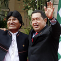 Regime Change Last Time: How Chavez Helped Defeat A Coup in Bolivia