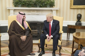 The Saudi Crown Prince plans to make us forget about the murder of Jamal Khashoggi before the US election