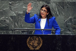 Delcy Rodriguez at the U.N.: Venezuela is Decent and Indivisible