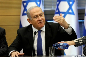Netanyahu indicted on corruption charges, but won't step down
