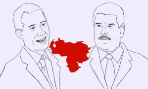Trump's imaginary world; Maduro's real world