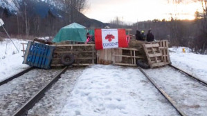 The Wet'suwet'en fight against new pipeline spreads across Canada