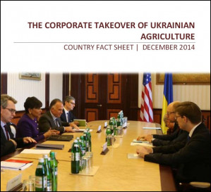 New fact sheet details Western agribusiness interests in Ukraine